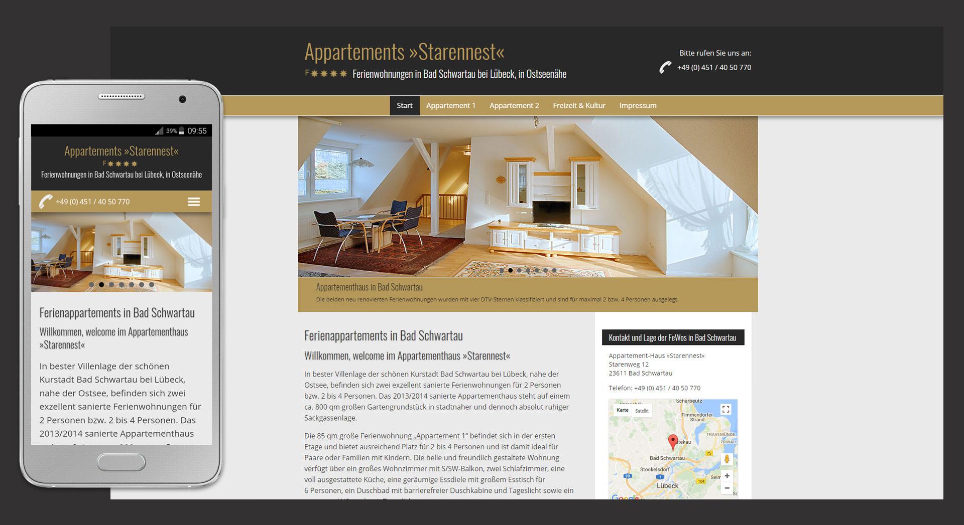 Webdesign Lübeck Webdesigner Bad Schwartau, Homepage Erstellung